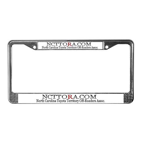NCTTORA License Plate Frame