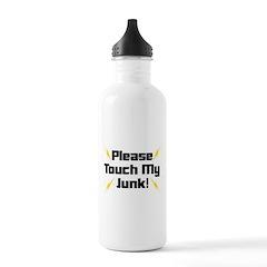 Please Touch My Junk Water Bottle