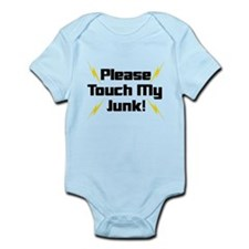Please Touch My Junk Infant Bodysuit