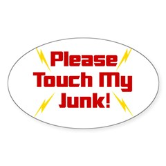 Please Touch My Junk Decal