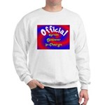 Groin Scanner In Charge Sweatshirt