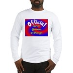 Groin Scanner In Charge Long Sleeve T-Shirt