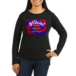 Groin Scanner In Charge Women's Long Sleeve Dark T