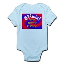 Groin Scanner In Charge Infant Bodysuit