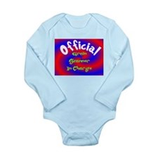 Groin Scanner In Charge Long Sleeve Infant Bodysui