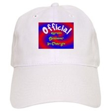 Groin Scanner In Charge Baseball Cap
