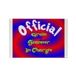 Groin Scanner In Charge Rectangle Magnet (100 pack
