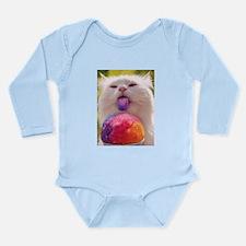 Colorful Kitty Long Sleeve Infant Bodysuit