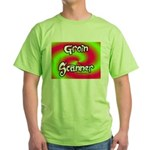 The Groin Scanner Green T-Shirt