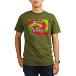 The Groin Scanner Organic Men's T-Shirt (dark)