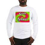 The Groin Scanner Long Sleeve T-Shirt