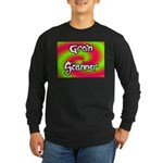 The Groin Scanner Long Sleeve Dark T-Shirt