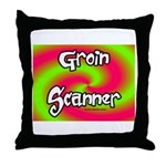 The Groin Scanner Throw Pillow
