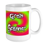 The Groin Scanner Large Mug