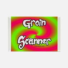 The Groin Scanner Rectangle Magnet