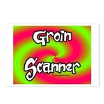 The Groin Scanner Postcards (Package of 8)