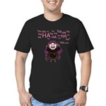 V: Evil Laugh Men's Fitted T-Shirt (dark)