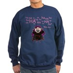 V: Evil Laugh Sweatshirt (dark)