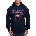 V: Evil Laugh Hoodie (dark)