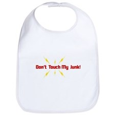 Don't Touch My Junk Bib