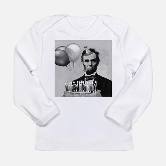 Lincoln's Birthday Long Sleeve Infant T-Shirt
