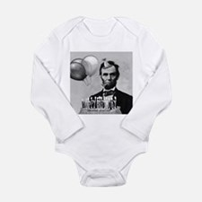 Lincoln's Birthday Long Sleeve Infant Bodysuit