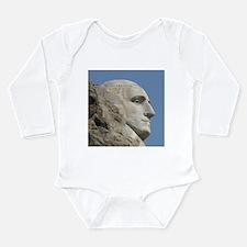 Mt. Rushmore Long Sleeve Infant Bodysuit