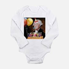 George Washington Long Sleeve Infant Bodysuit