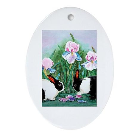 Evonnes Art Oval Ornament