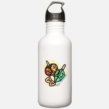 Jewish Dreidels Water Bottle