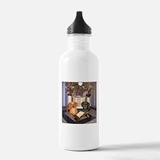 Jewish Dachshunds Water Bottle