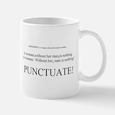 PUNCTUATE! Lefty Mug
