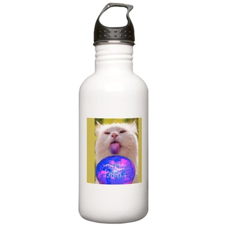 Easter Cat Stainless Water Bottle 1.0L