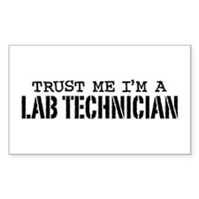 Lab Technician Decal