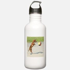 Jumping Doxie Water Bottle