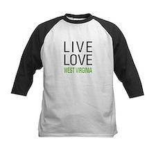 Live Love West Virginia Tee