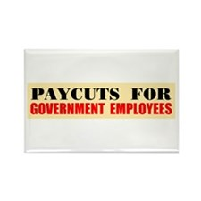 CUT THEIR PAY Rectangle Magnet (10 pack)