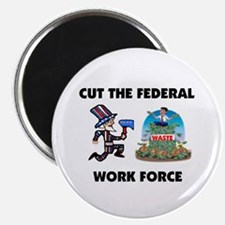 """CUT THEIR PAY 2.25"""" Magnet (10 pack)"""
