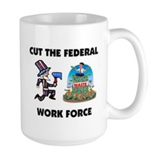 CUT THEIR PAY Mug