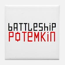 battleship potemkin Tile Coaster