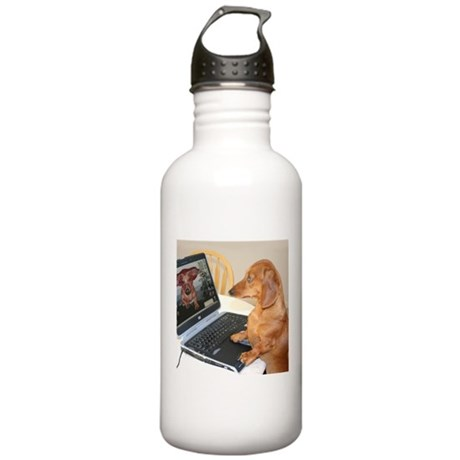 Tigs Computer Stainless Water Bottle 1.0L