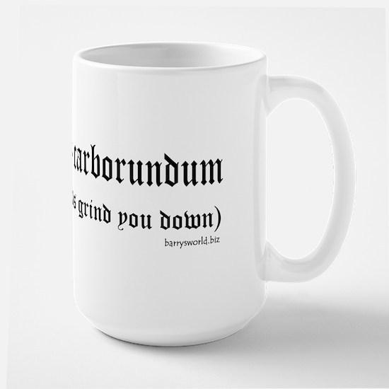 Illegitimi Large Mug