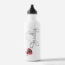 Ladybug Judy Water Bottle