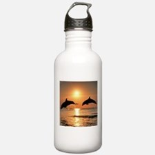 Two Dolphins Water Bottle
