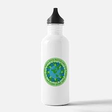 Earth Day Slogans Water Bottle