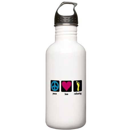 Peace, Love, Reflex Stainless Water Bottle 1.0L