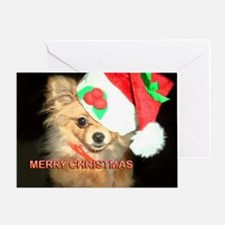 Chihuahua Xmas Greeting Card