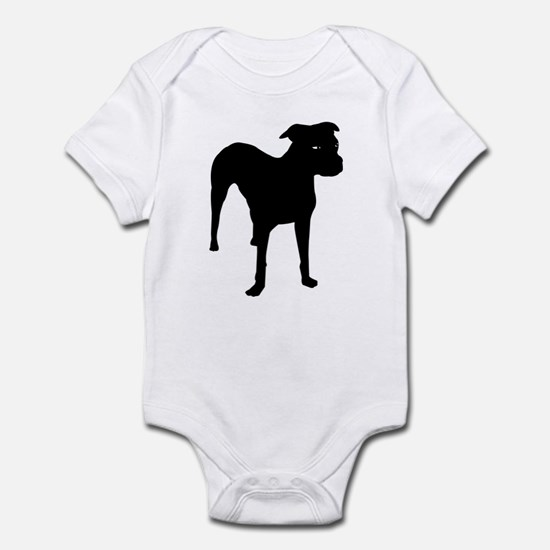 Olde Boston Bulldogge Infant Creeper