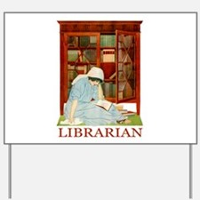 LIBRARIAN by Coles Phillips Yard Sign