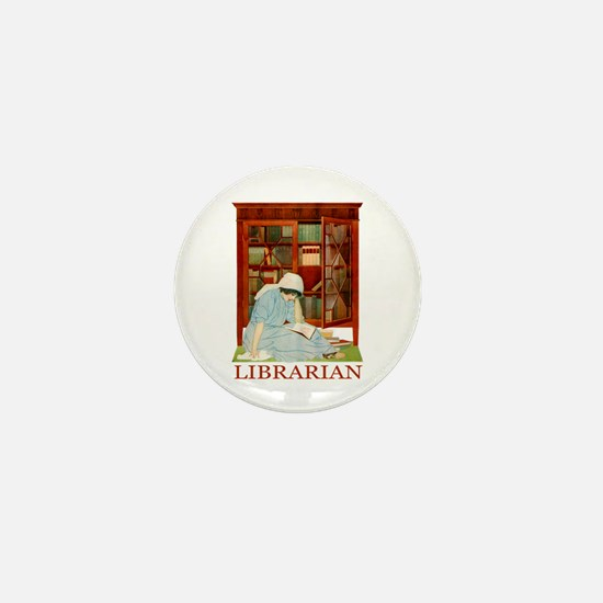 LIBRARIAN by Coles Phillips Mini Button